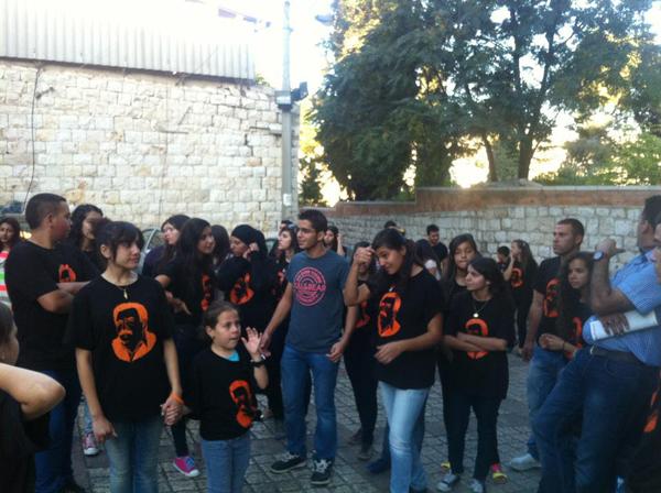 الناصرة: تجمع الشباب يقوم بجولة في السوق القديم