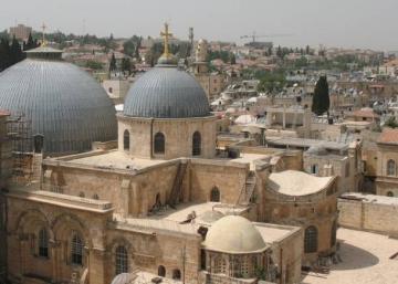 كنيسة القيامة مهددة بالاغلاق بسبب ملاحقة شركة مياه اسرائيلية