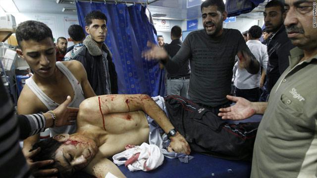 أربعة شهداء وعشرات الجرحى  في قصف إسرائيلي على قطاع غزة