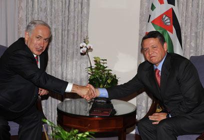 """""""نتانياهو التقى الملك الأردني عبد الله الثاني سرا"""".."""