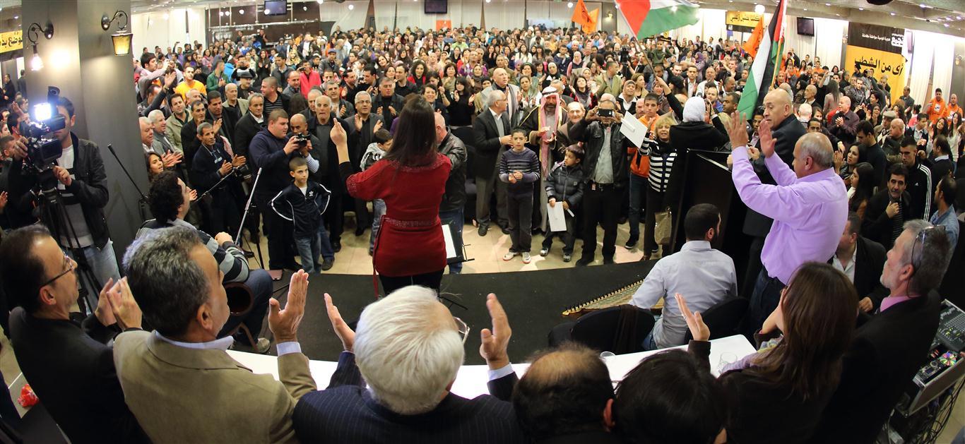 أقوى من الشطب: الآلاف في مهرجان التجمع في الناصرة