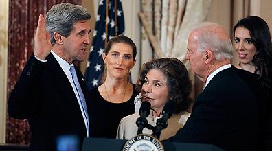 بايدن يعرب عن أمله بالتوصل الى اتفاق سلام في الشرق الأوسط قبل نهاية ولاية أوباما