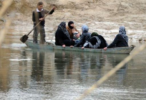 5 آلاف لاجئ سوري يغادرون سورية يوميا