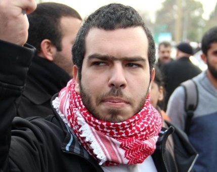 الكتل الطلابية في الجامعة العبرية تستنكر اعتقال الطالب خليل غرة