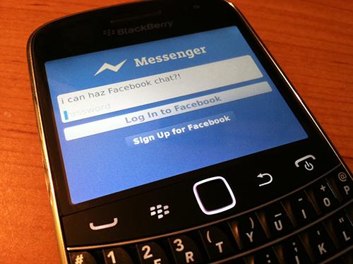 بلاك بيري تتيح عرض محتوى الفيسبوك من غير إتصال بالإنترنت