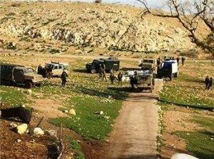 قوات الاحتلال ترحل 23 عائلة من الرأس الأحمر في الأغوار
