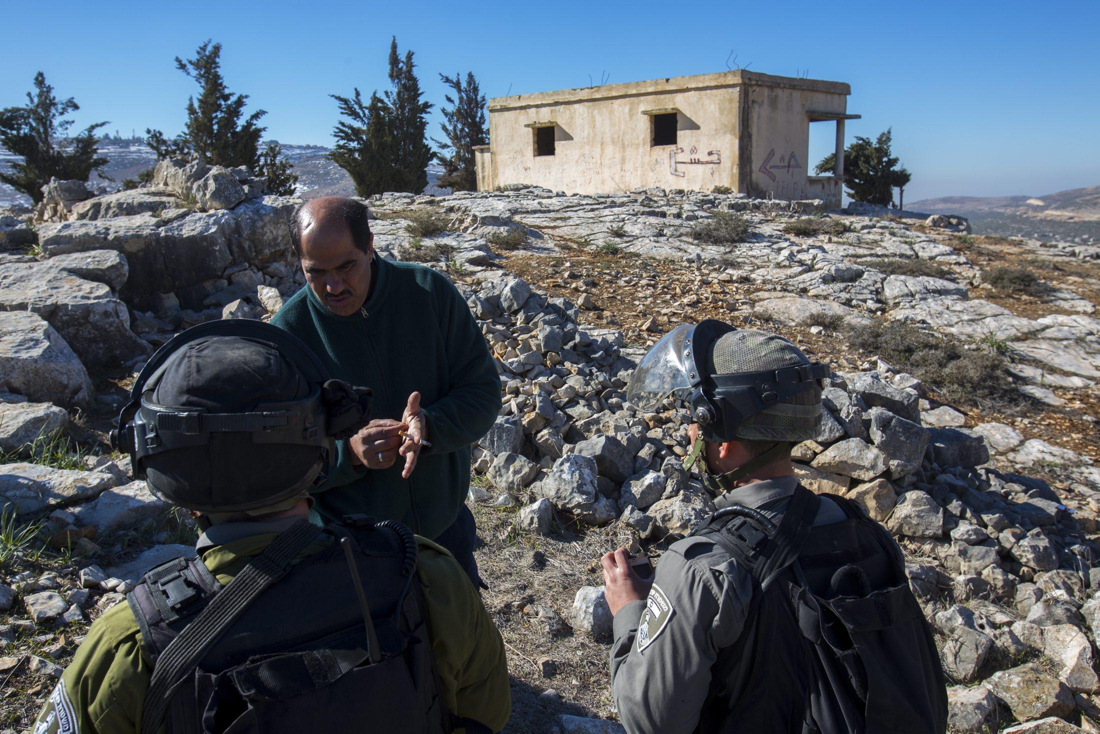 """""""أوتشا"""": عدد الفلسطينيين القاطنين منطقة سي 300 ألف"""