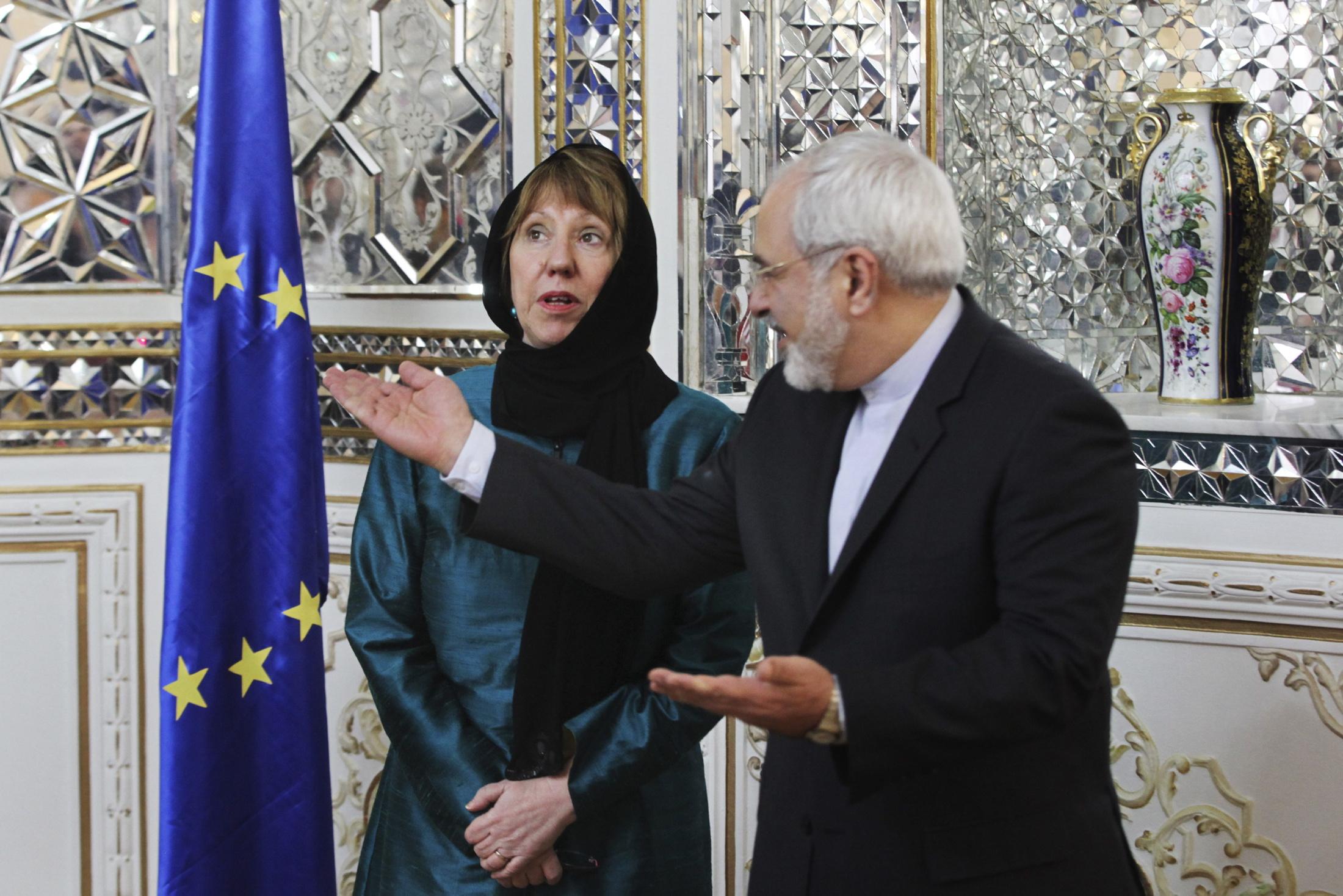 نتنياهو غاضب  «سفينة الأسلحة» لم تؤثر على زيارة أشتون لإيران