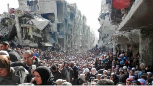 العفو الدولية:  مخيم اليرموك  يتعرض لجرائم حرب