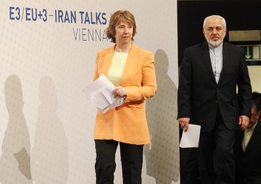 أشتون تقول ان المحادثات مع ايران مفيدة وظريف يرى مؤشرات الى اتفاق نهائي