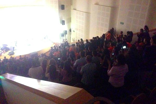 مهرجان التجمع في الجامعة العبرية: الطلّاب يؤكدون أنهم السياج الواقي للحركة الوطنيّة الطلّابيّة