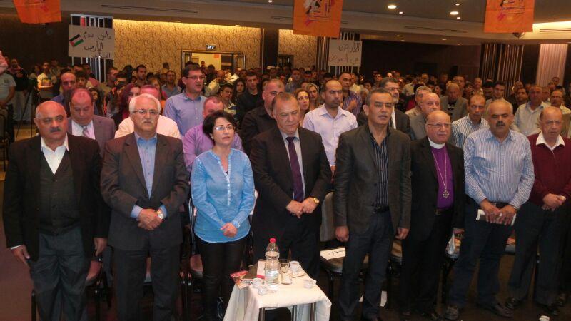 في مهرجان حاشد :التجمع يحيي الذكرى ال38 ليوم الارض