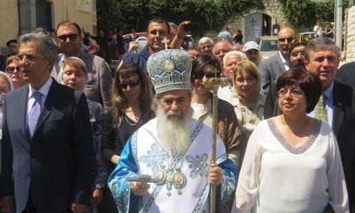 تجمع الناصرة يقاطع ويطالب بمقاطعة زيارة البطريرك اليوناني ثيوفيلوس الثالث