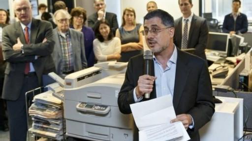 الغارديان وواشنطن بوست تتقاسمان جائزة بوليتزر للصحافة عن تغطية التجسس الإليكتروني الأمريكي