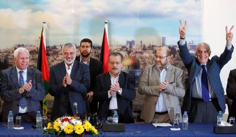 تقدير موقف للخارجية الإسرائيلية: اتفاق المصالحة صعب التحقق