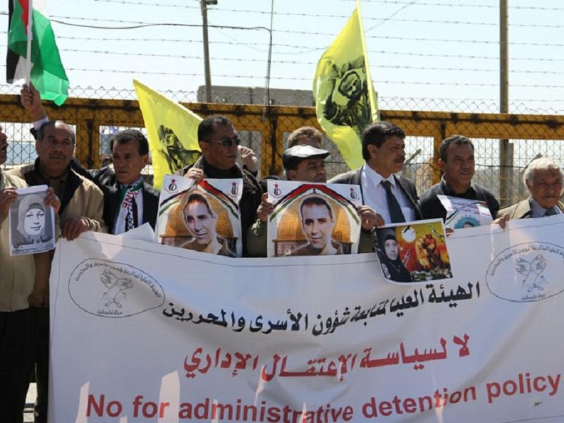 أحرار يطالب برلمانيي العالم بالوقوف مع الأسرى الإداريين ودعم إضرابهم