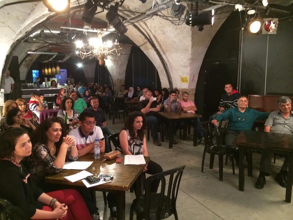 الخشبة المفتوحة في سرايا يافا تنبئ بجيل أدبي فلسطيني رائد