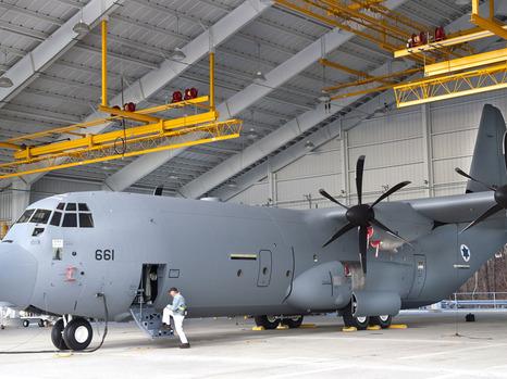 سلاح الجو الاسرائيلي يتزود بطائرة نقل تستطيع الوصول إلى ايران