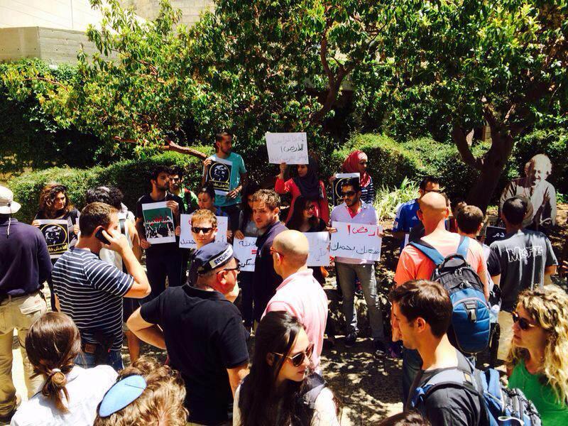 الأربعاء في الجامعة العبريّة: الحركات الطلّابيّة تستمرّ في التظاهر