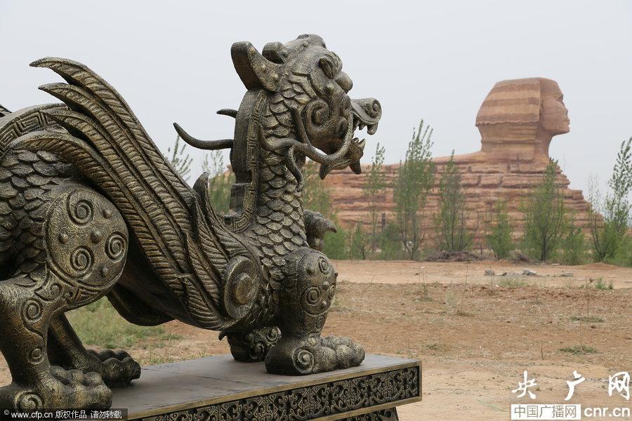 """الصين تستنسخ """"أبو الهول"""" طبق الأصل... وغضب مصري"""