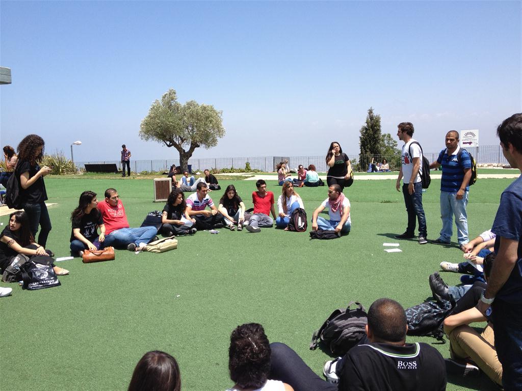عريضة لطلاب جامعة حيفا تطالب بوقف الإجراءات العقابية ضد الطلاب