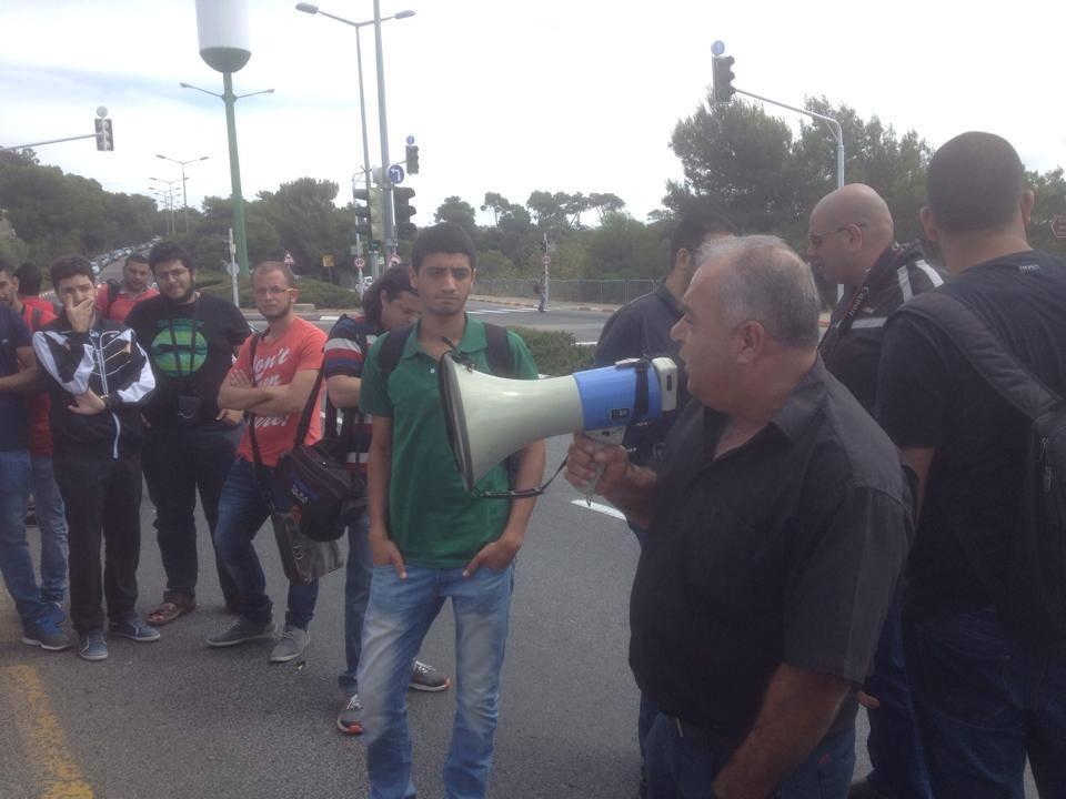 الطلاب العرب في جامعة حيفا يرفعون صرخة ضد كم الأفواه