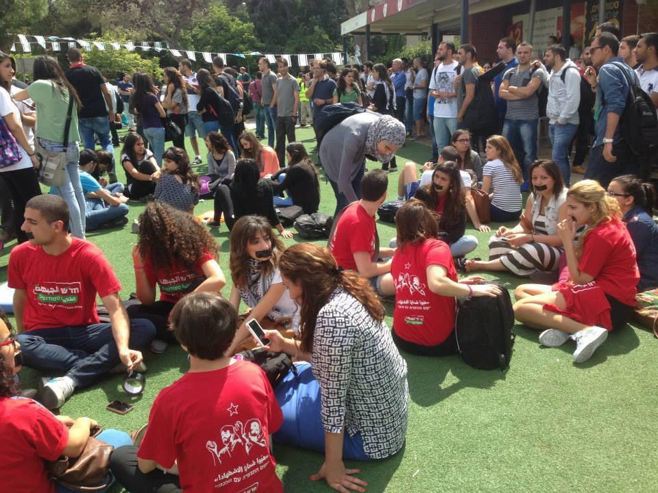90 محاضرا يدينون سلوك جامعة حيفا وقمعها للطلاب العرب في ذكرى النكبة