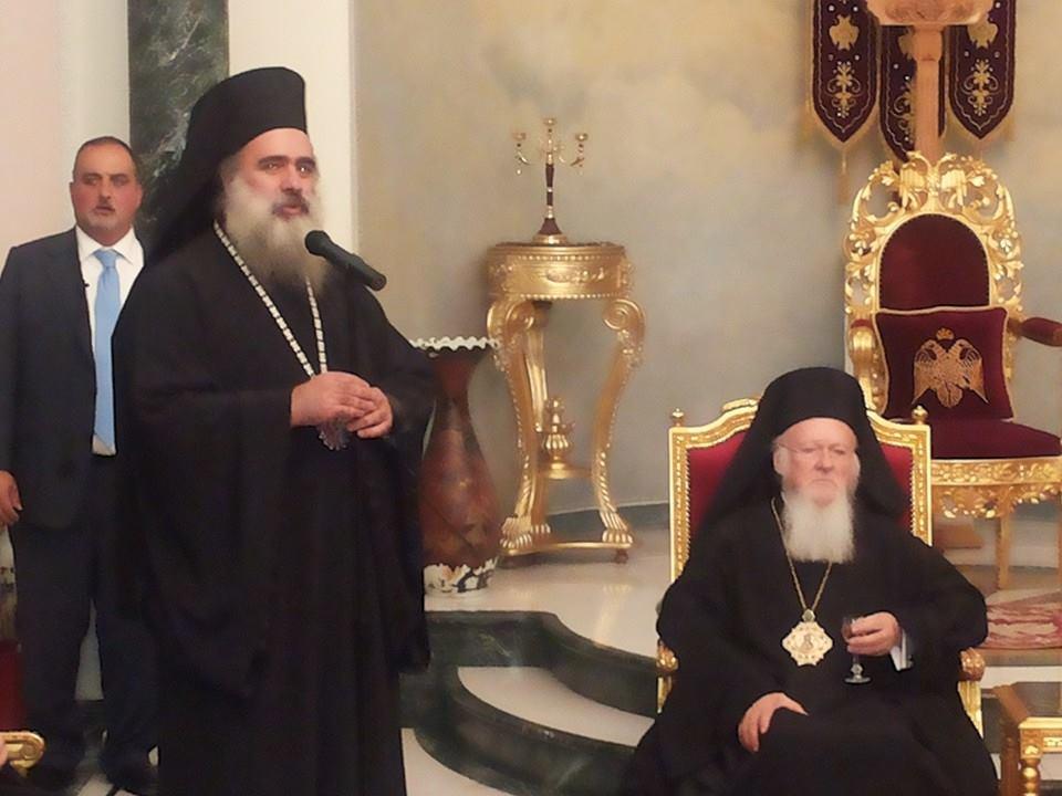 بدء الاستعدادات في كنيسة القيامة للقاء التاريخي بين البابا وبطريرك القسطنطينية المسكوني