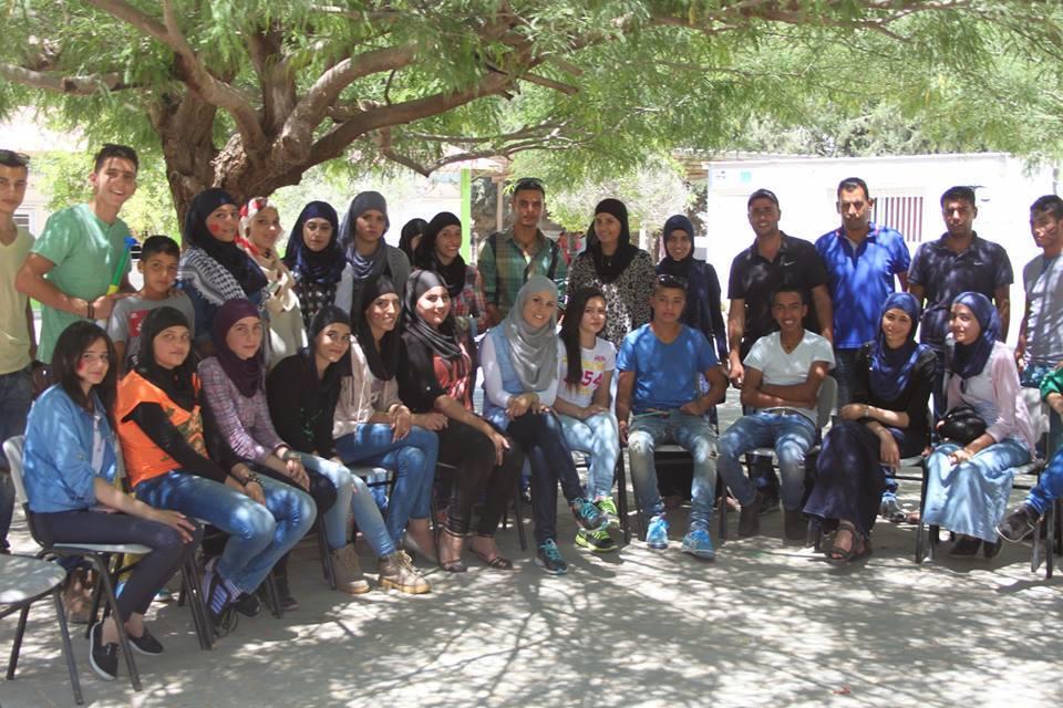 شبيبة بلدنا تنظم يوم عمل تطوعي في قرية الزرنوق مسلوبة الاعتراف في النقب