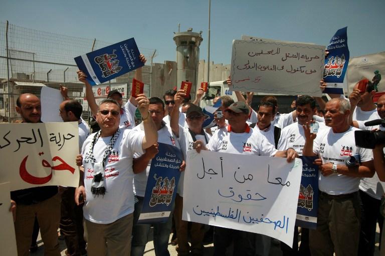 من يحمي الصحفيين الفلسطينيين من اعتداءات الأجهزة الأمنية الفلسطينية