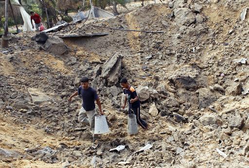 قطاع غزة: إصابة 5 فلسطينيين في قصف مدفعي
