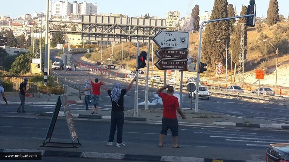 تجمع الناصرة يشيد بالمتظاهرين الشباب ويطالب رئيس البلدية بالاعتذار