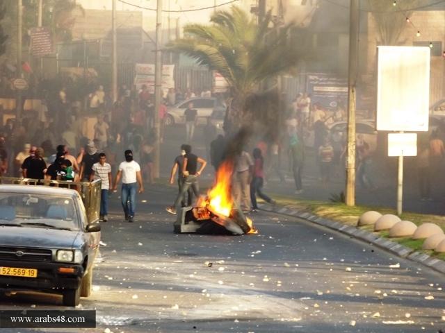 277 معتقلا عربيا بمظاهرات الغضب المتواصلة لليوم الرابع في الداخل والقدس