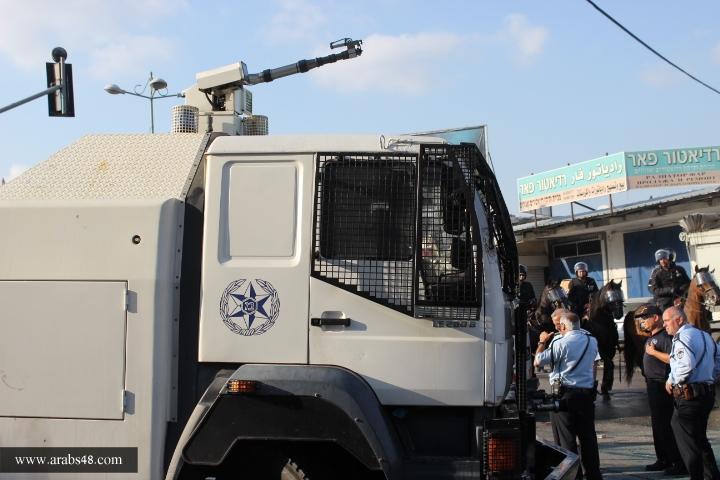 تجمع الناصرة يشيد بنجاح الإضراب العام والمظاهرة ويدين اعتداءات الشرطة