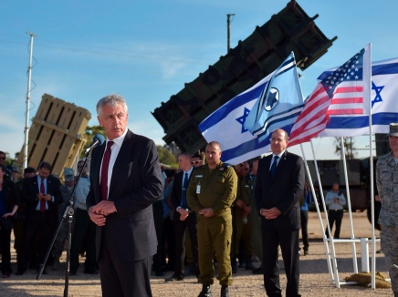 هاغل يطلب من الكونغرس مساعدة طوارئ لإسرائيل بـ 225 مليون دولار