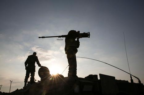 """المقاومة الفلسطينية تنفذ عملية توغل قرب """"ناحل عوز"""""""