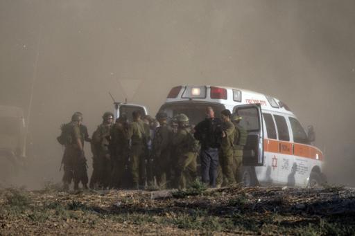 نقل 20 جنديا إسرائيليا إلى مستشفى عسقلان في الساعات الأخيرة