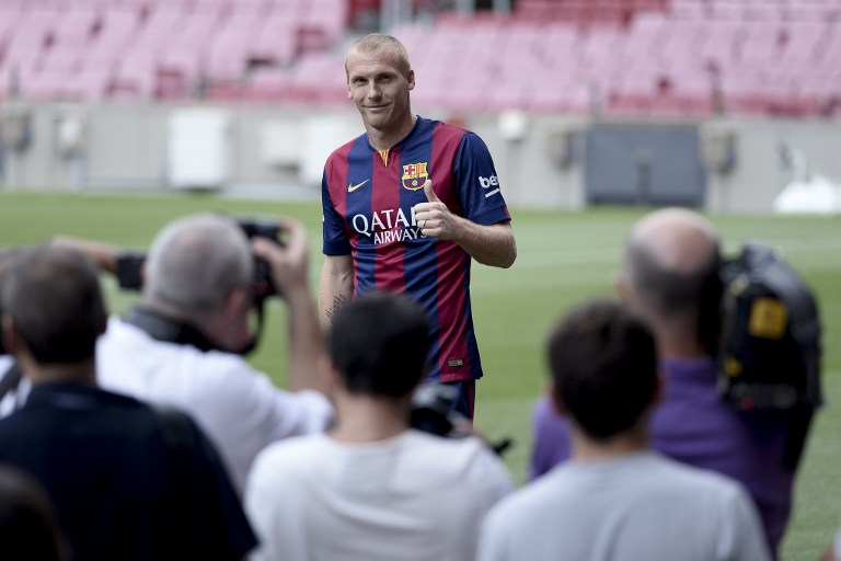 برشلونة متفائلة جدًا بأداء ماثيو