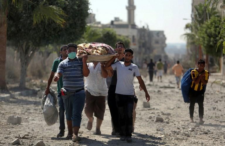 شهود من غزة:  جنود قتلوا مدنيين خلال فرارهم