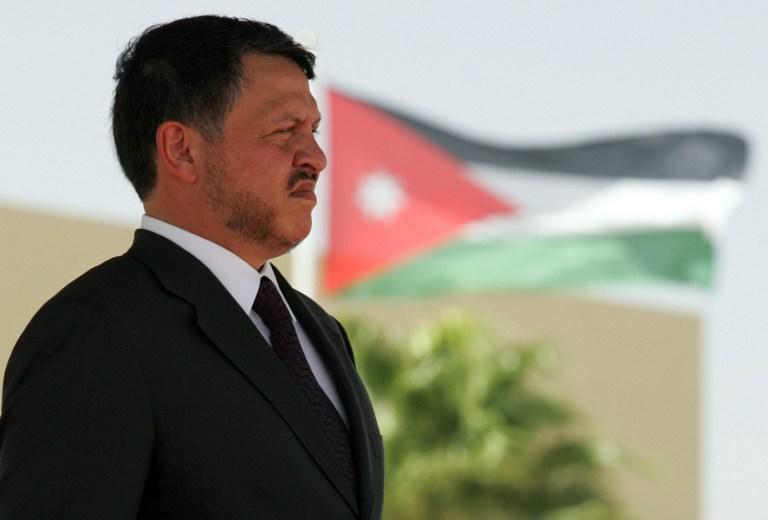 """عبد الله الثاني يطالب  بـ""""مساءلة إسرائيل عما ترتكبه"""" بحق الفلسطينيين"""