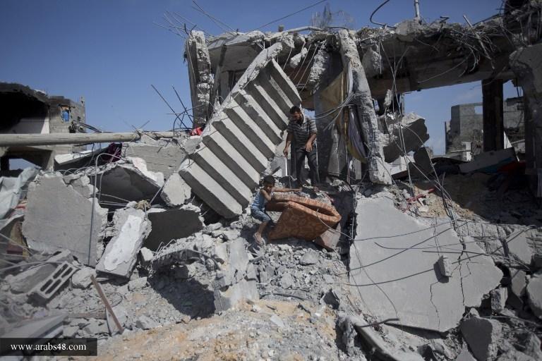 استمرار انتشال جثث الشهداء في قطاع غزة والعدد يرتفع إلى 1944