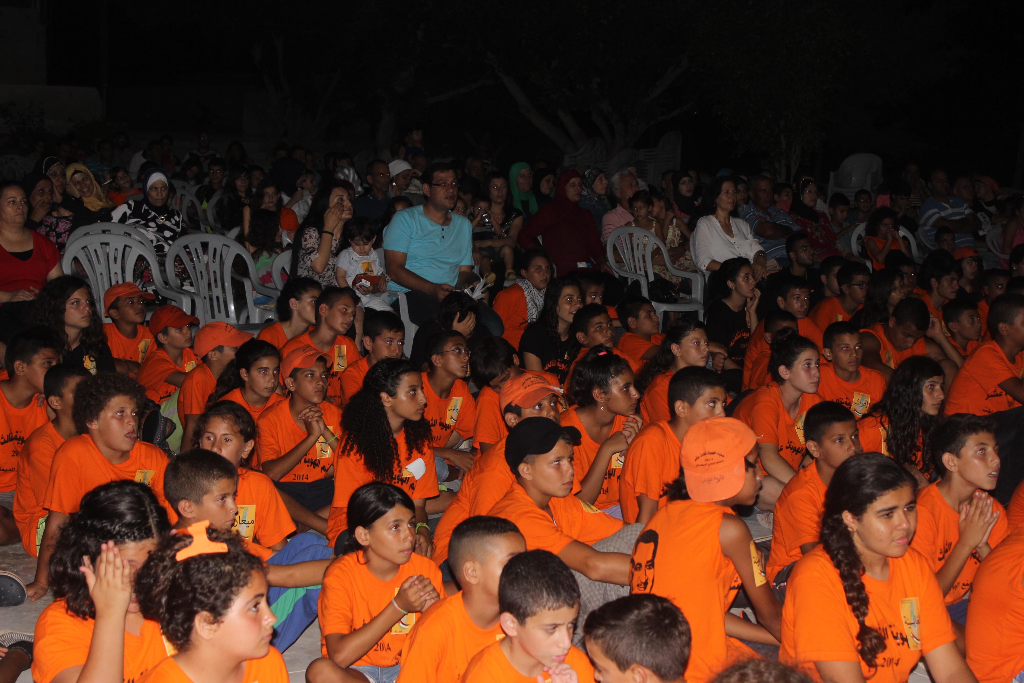 اختتام مخيم الهوية الـ13 للتجمع الوطني بمهرجان احتفالي حاشد