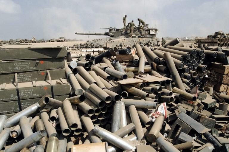 """قذائف المدفعية التي أطلقت على غزة 4 أضعاف """"الرصاص المصبوب"""""""