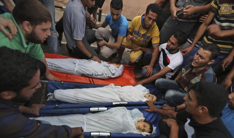 وزارة الصحة الفلسطينية: استشهاد ما لا يقل عن 560 طفلا في قطاع غزة