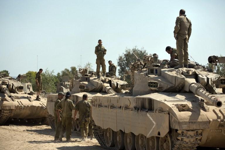 الأجهزة الأمنية الإسرائيلية تدرس تقديم توصية بشن حملة برية أخرى