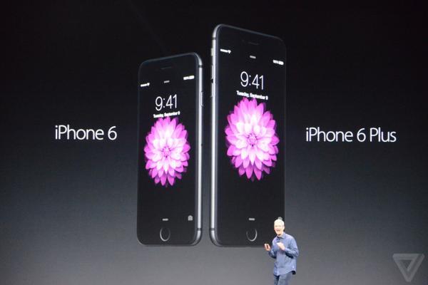 """""""أبل"""" تطلق هاتفيها المتطورين ايفون 6 وايفون 6 بلوس وساعات اليد الذكية"""