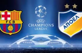 بث مباشر: دوري أبطال أوروبا برشلونة وأبوييل نيقوسيا