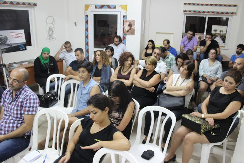 """مشروع الخدمة المدنية في ندوة """"بلدنا"""" و""""مدى الكرمل"""""""