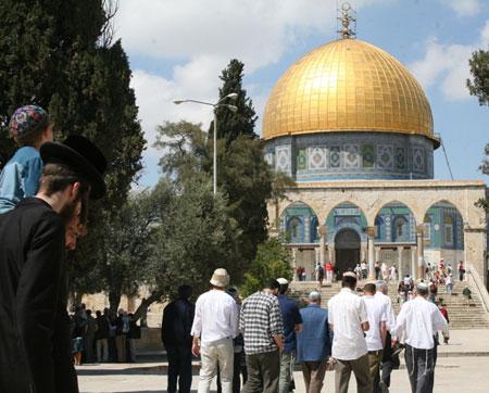 الاحتلال يحول القدس لثكنة عسكرية في رأس السنة العبرية
