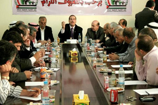 الشخصيات الفلسطينية المستقلة تدعو لثورة جماهيرية ضد من يعطل المصالحة
